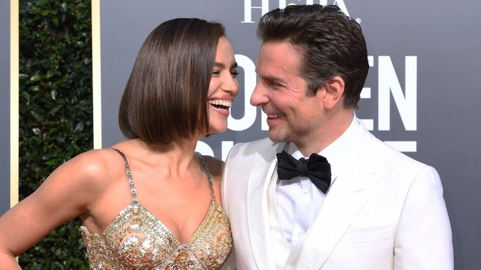 Bradley Cooper and Irina Shayk  Golden Globes