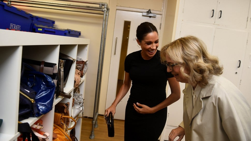 Meghan Markle Jokes About Woman Rejecting Her Handbag She Donated To