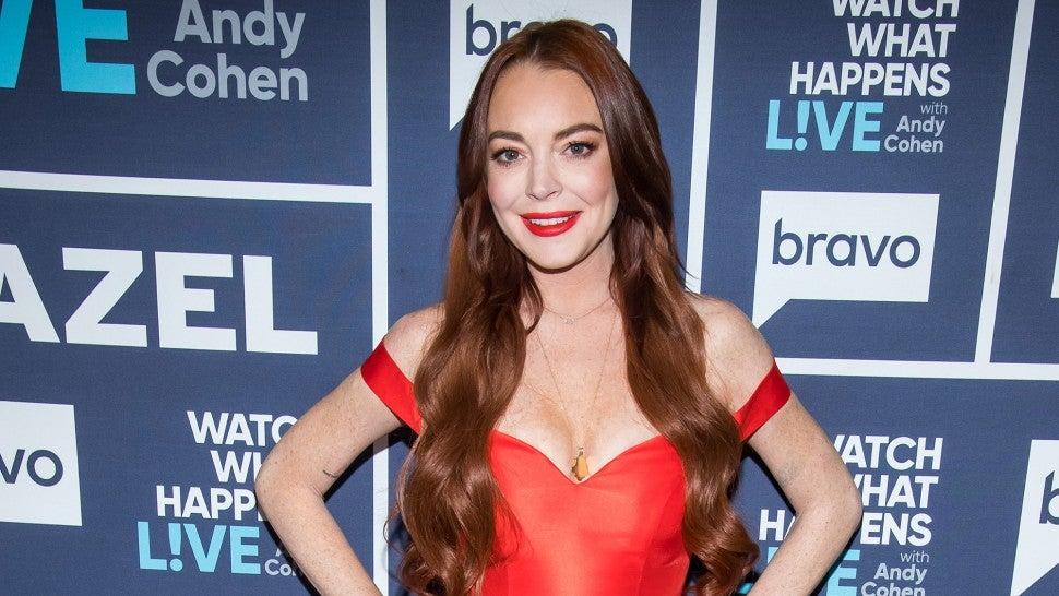 Did Lindsay Lohan Just Throw Major Shade at Zendaya's Cinderella Met Gala Gown?
