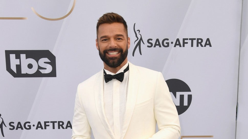 Ricky Martin shares photo of daughter