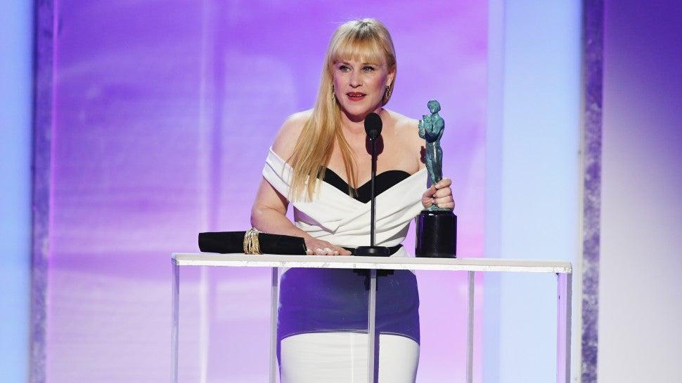 Patricia Arquette Thanks Robert Mueller During Her SAG Awards Acceptance Speech!