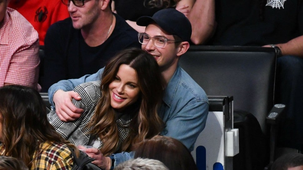 Kate Beckinsale Has the Most Hilarious Response When Asked If Her PDA Pal Is Her Son