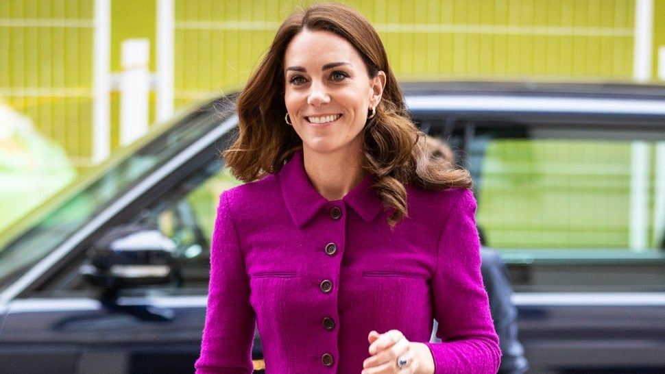 Kate Middleton Rewears Magenta Skirt Suit From Two Years Ago to Royal Opera House