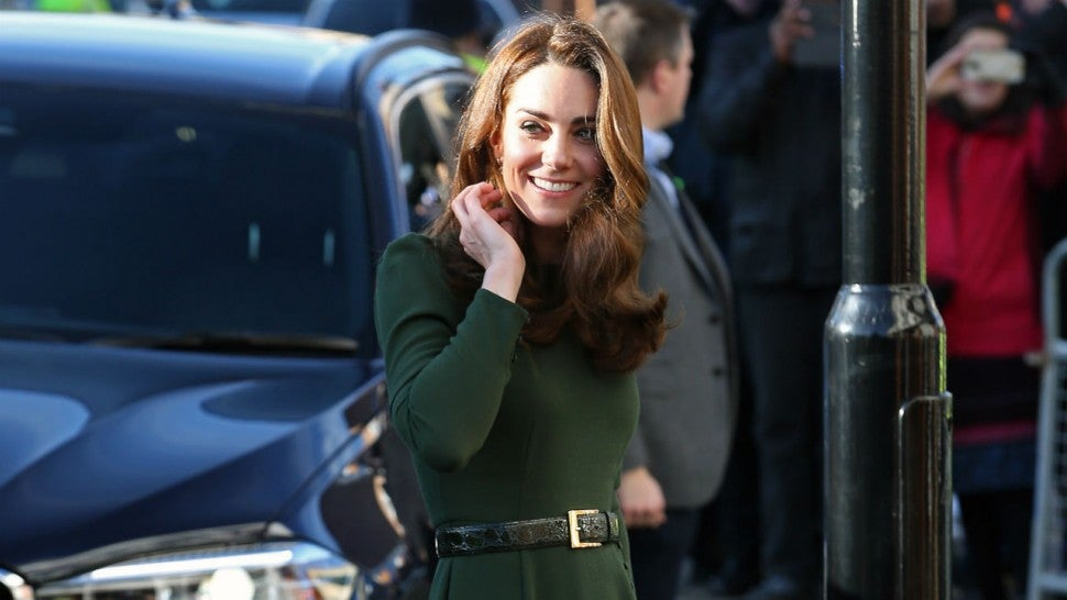 Kate Middleton Turns Heads in Stunning Green Dress While Visiting a London Charity