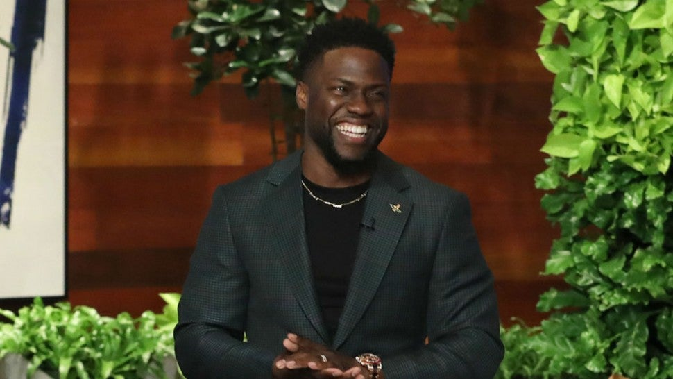 Ellen 'forgives' defiant Kevin Hart's homophobia & says he should host the Oscars