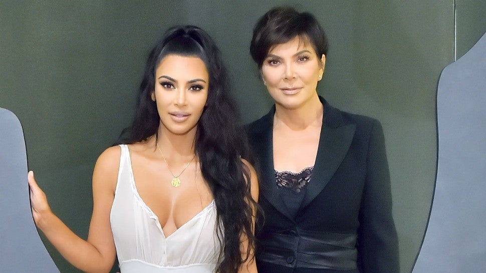 Kris Jenner Is The Spitting Image Of Kim Kardashian With This New Hairstyle Entertainment Tonight