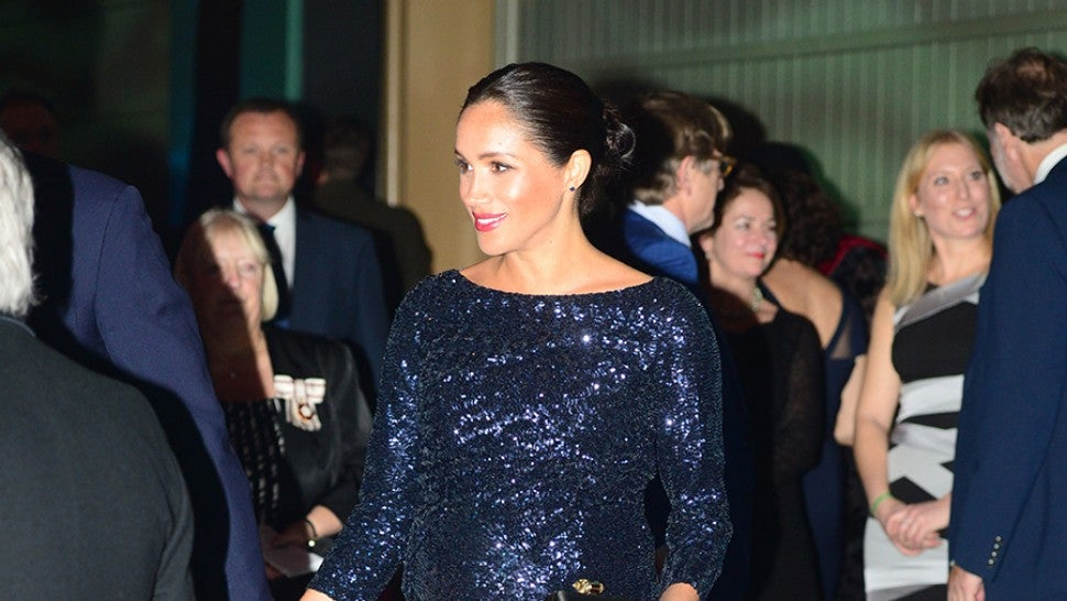 Prince Harry, Duke of Sussex and Meghan, Duchess of Sussex attend the Cirque du Soleil Premiere Of 'TOTEM' at Royal Albert Hall on January 16, 2019 in London, England.