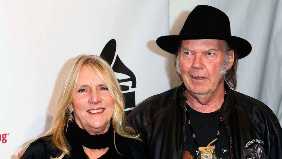 Neil Young Posts Remembrance of Pegi Young