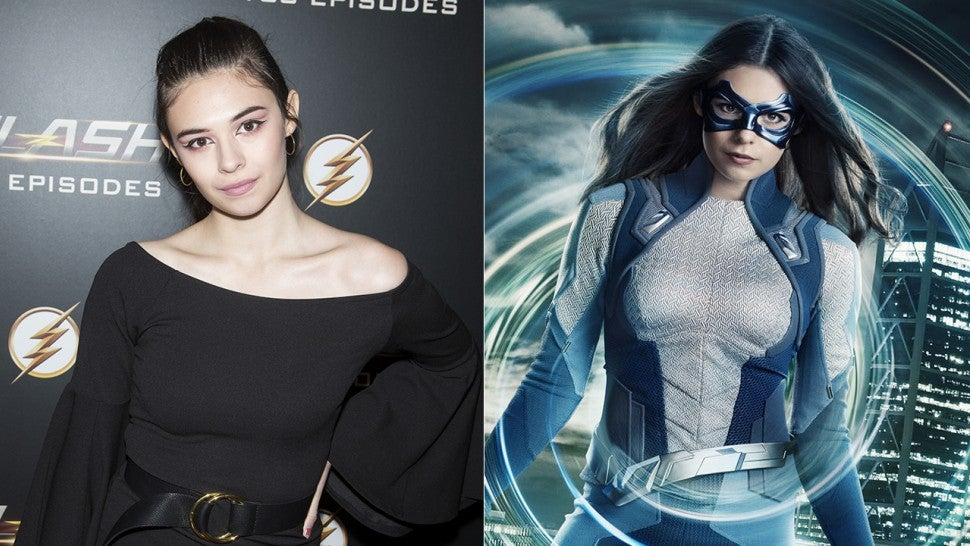 'Supergirl' Star Nicole Maines Suits Up as First Transgender Superhero on TV -- See the Photo!