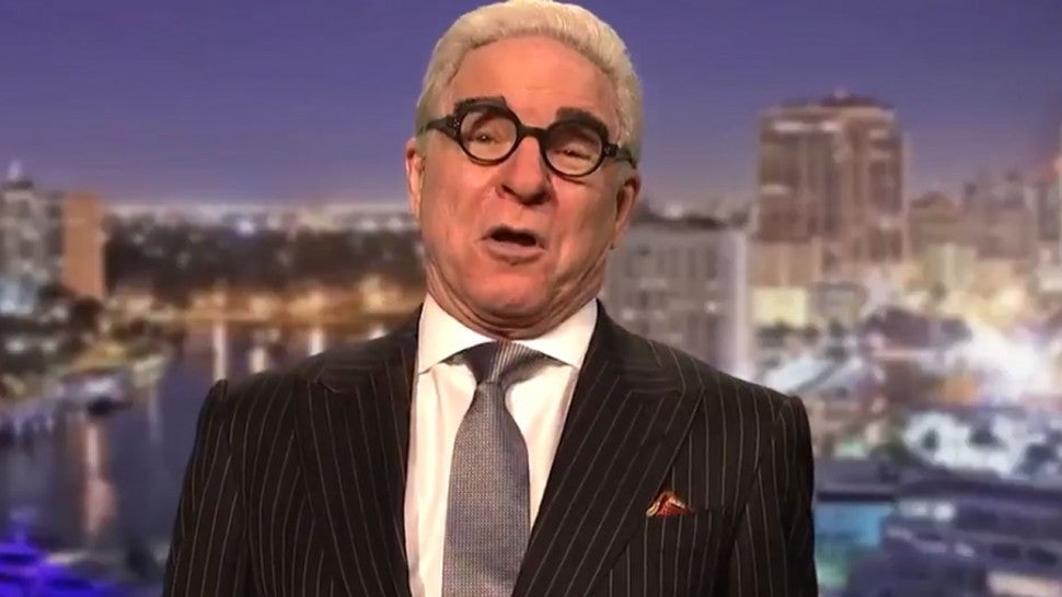 Steve Martin as Roger Stone on 'Saturday Night Live'