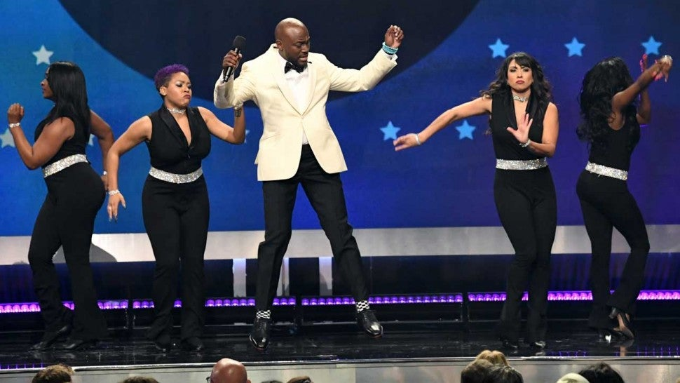 Taye Diggs hosts the 2019 Critics' Choice Awards on Jan. 13