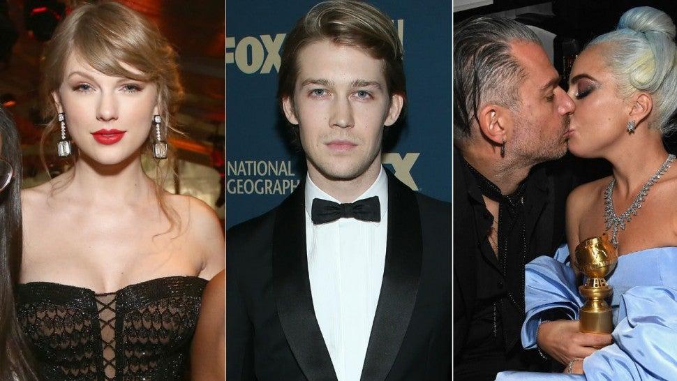Taylor Swift, Joe Alwyn, Lady Gaga and Christian Carino