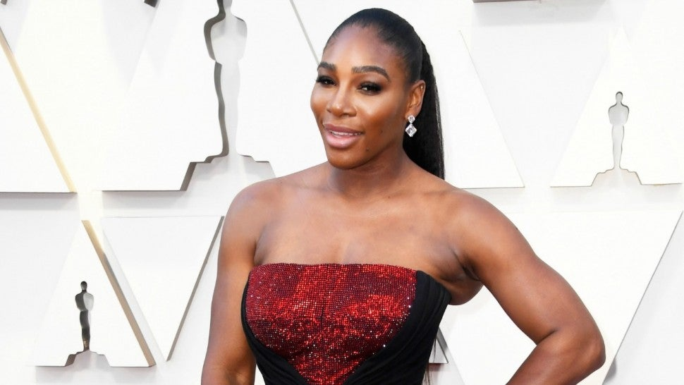 9488504e952 Serena Williams Slays the 2019 Oscars in Body-Hugging Black Gown ...