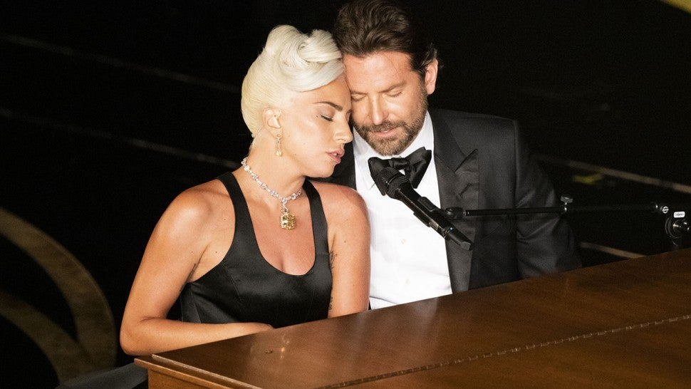 Lady Gaga Addresses Bradley Cooper Romance Rumors With Jimmy Kimmel