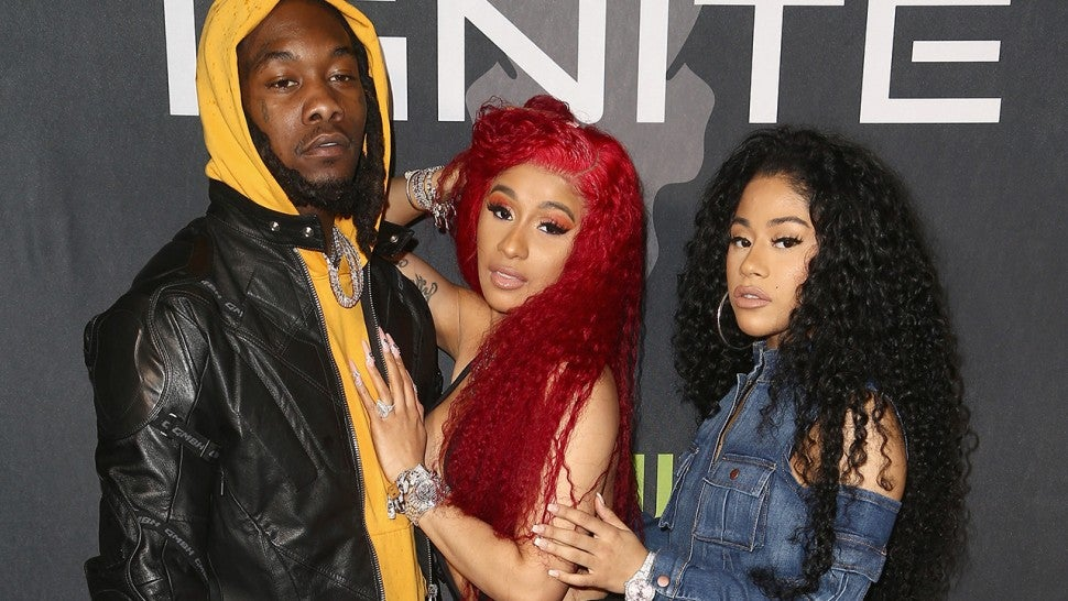 Offset Tattoos Cardi B Name On His Neck After He Was: Cardi B Just Started Wearing Her Massive Engagement Ring