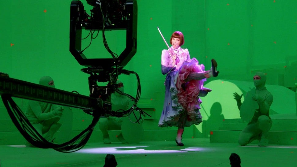 Behind-the-Scenes of 'Mary Poppins Returns' Animated Penguin Song