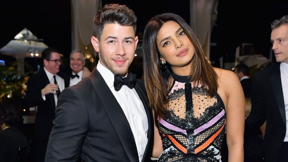 nick jonas and priyanka chopra at 2019 learning lab gala