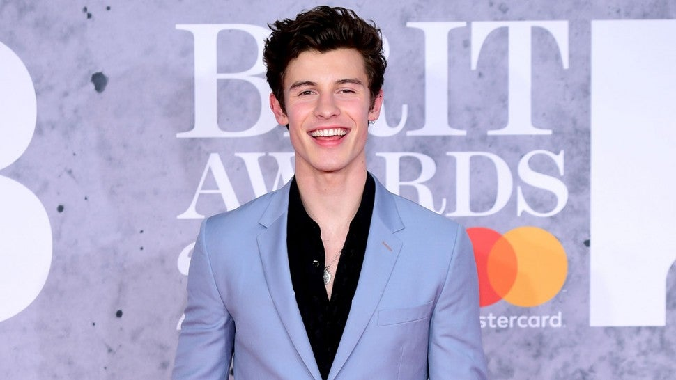 Shawn Mendes at 2019 brit awards