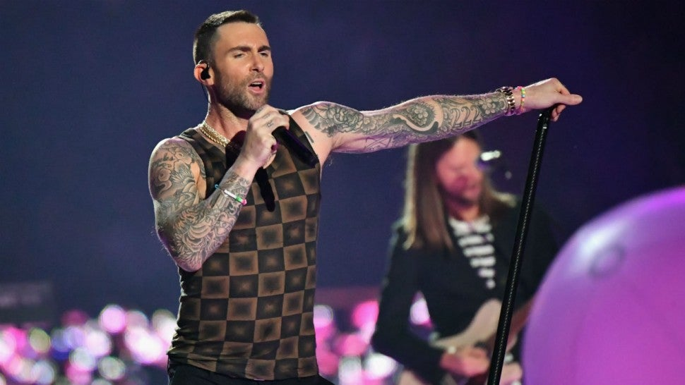 Adam Levine responds to critics after Maroon 5's Super Bowl performance