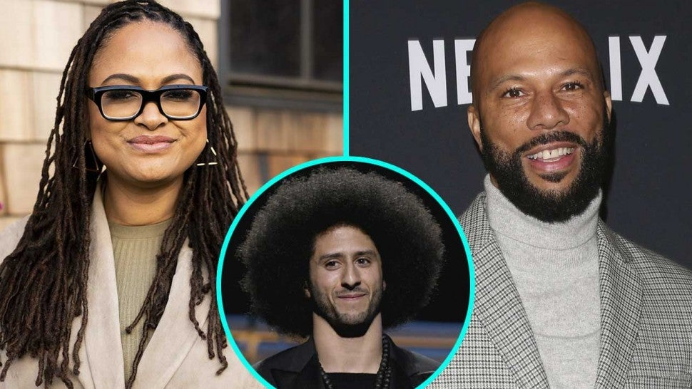 Ava DuVernay, Common and Colin Kaepernick (inset)