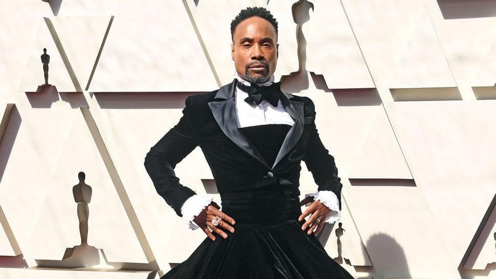 Billy Porter Slays In Dramatic Tuxedo Gown On 2019 Oscars