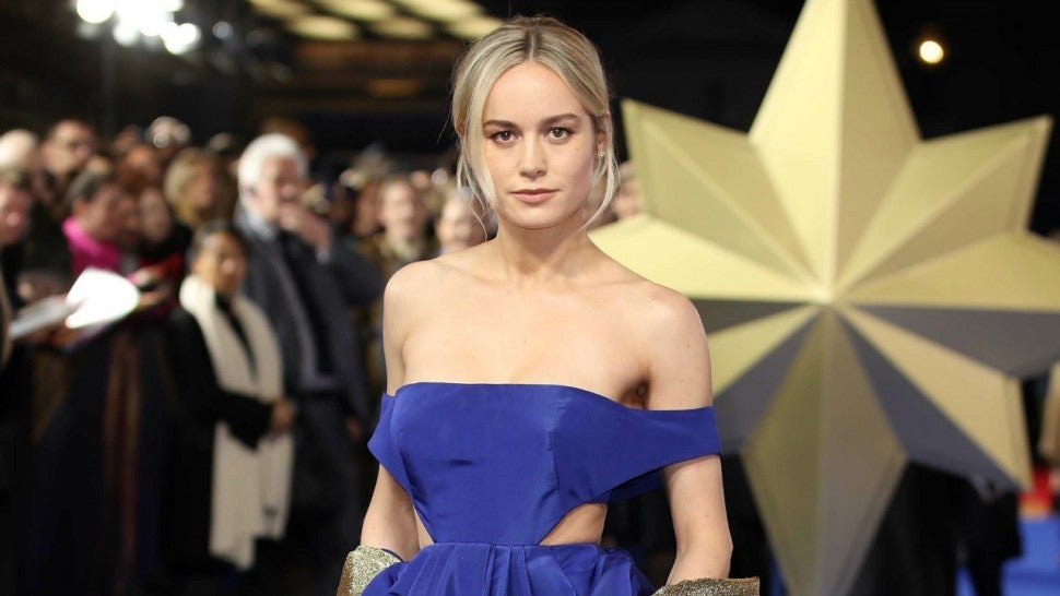 Brie Larson Captain Marvel London Premiere