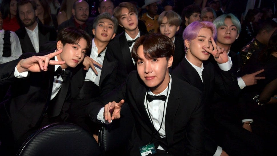 BTS and Halsey to Debut 'Boy With Luv' at Billboard Music Awards