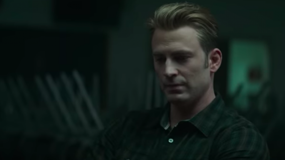 Captain America (Chris Evans) in Avengers: Endgame trailer