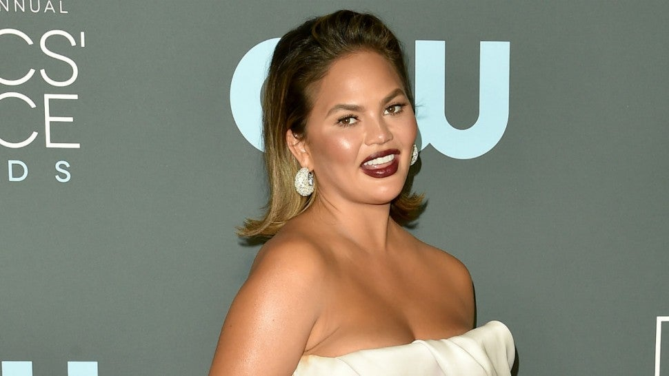 Chrissy Teigen on accepting being 20 pounds heavier