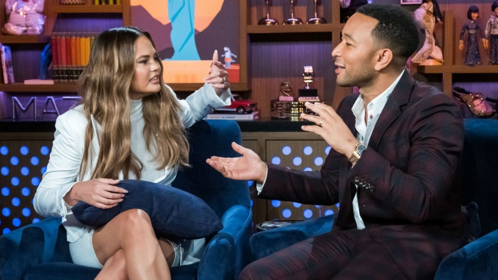 Chrissy Teigen and John Legend's Pizza Rolls Fight Is Giving Us Life