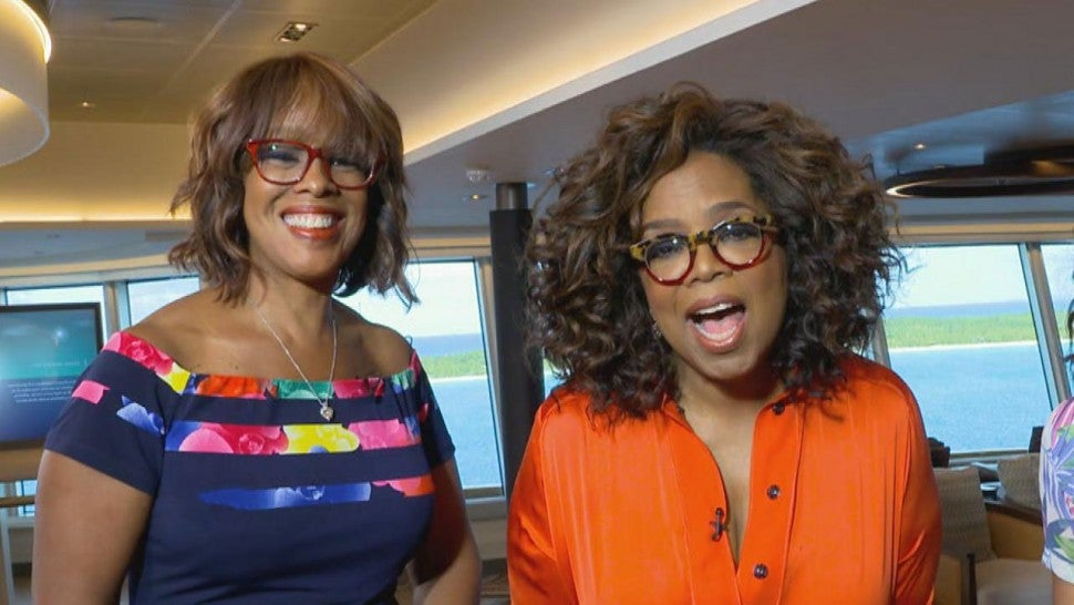 Gayle King Tells Oprah Winfrey What to Do if She Ever Caught Her Cheating With Stedman Graham