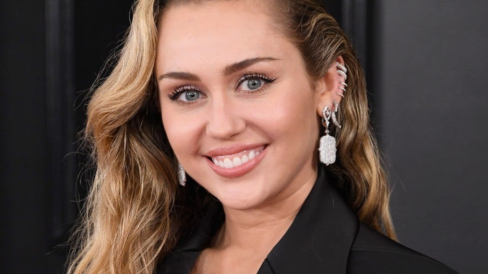 Miley Cyrus Grammys beauty