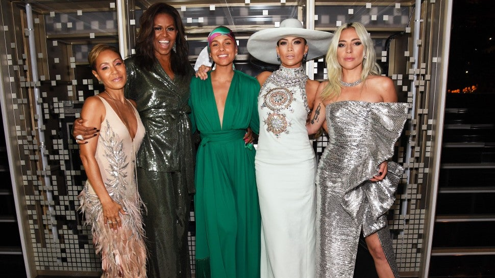 Michelle Obama stuns Grammys with surprise appearance in support of Alicia Keys