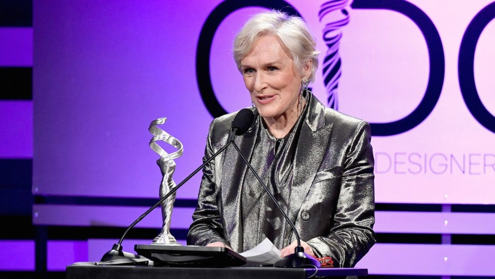 Glenn Close at CDGA
