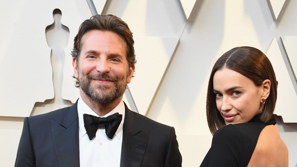 Bradley Cooper and Irina Shayk at 2019 oscars