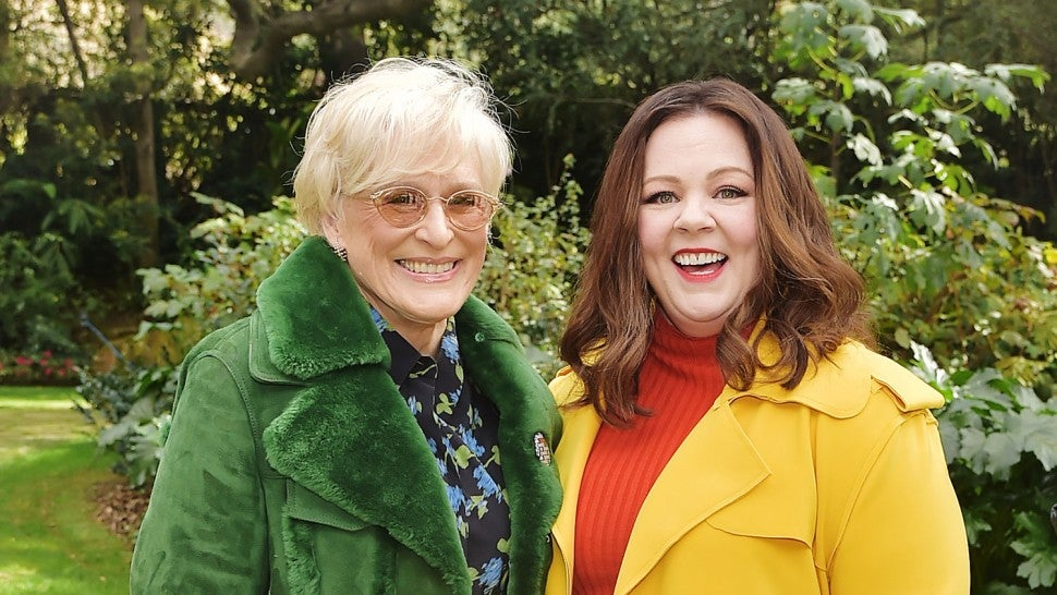 Glenn Close and Melissa McCarthy