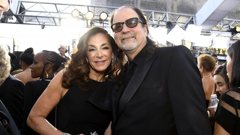 Jan Svendsen and telecast director Glenn Weiss attend the 91st Annual Academy Awards at Hollywood and Highland on February 24, 2019 in Hollywood