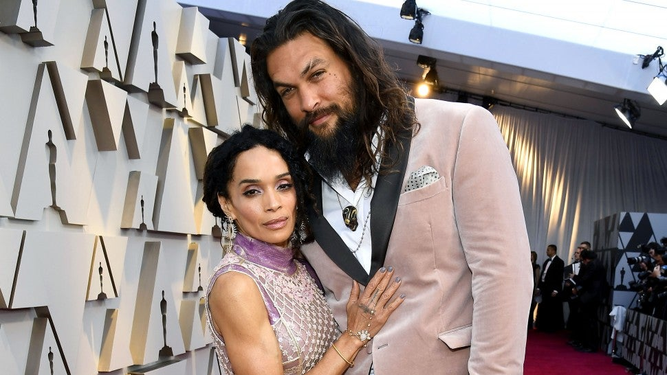 Jason Momoa Goes Shirtless While on Vacation With Wife Lisa Bonet in Venice: Pic