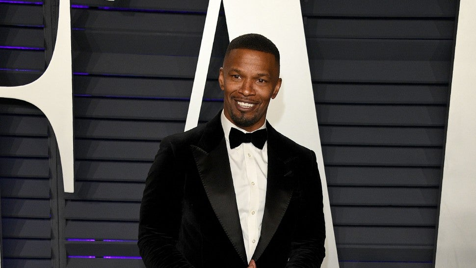 Jamie Foxx at vf party