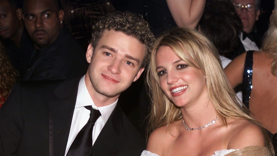 Justin Timberlake and Britney Spears at 2002 grammys