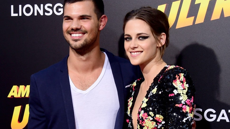 Kristen Stewart Reunites With 'Twilight' Co-Star Taylor ...