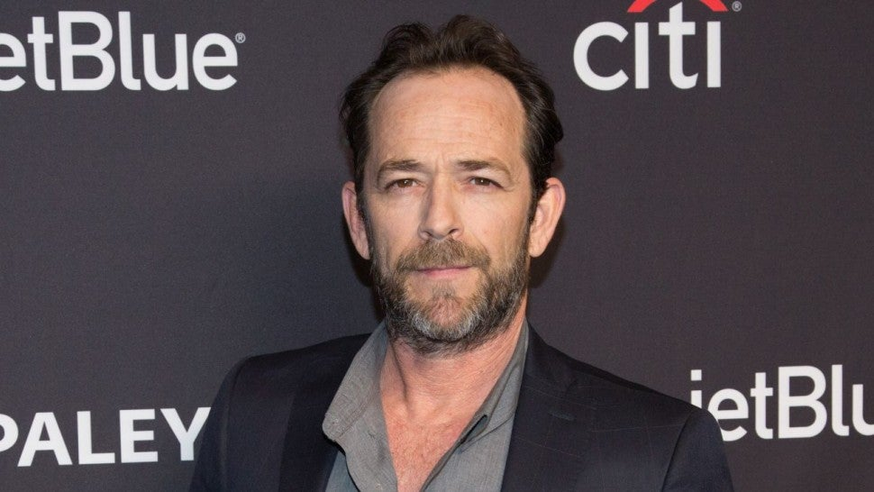 Luke Perry suffers a massive stroke and is recovering in the hospital