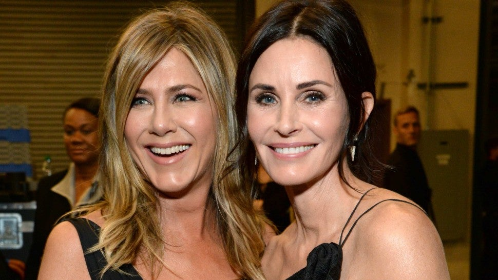 Image result for Jennifer Aniston & Courteney Cox