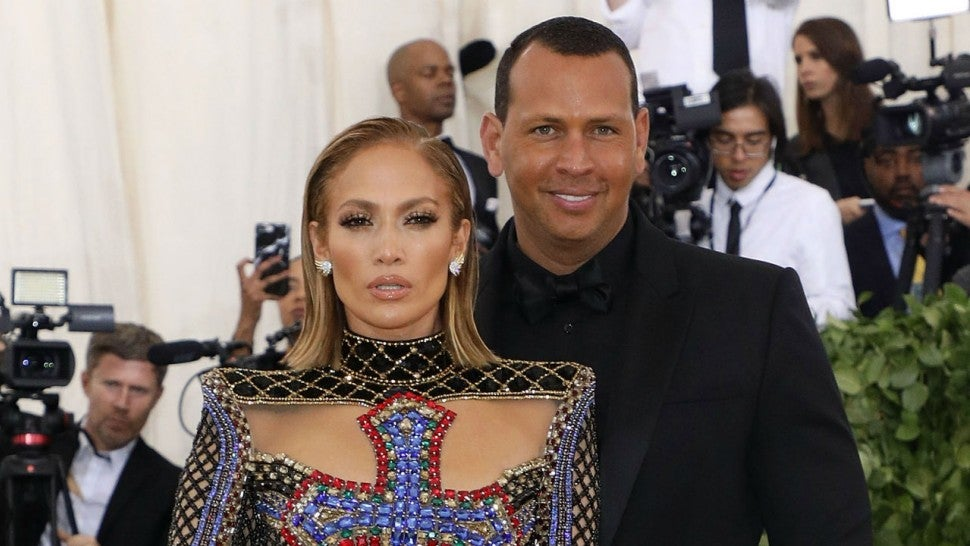 Alex Rodriguez Films Jennifer Lopez Pole Dancing for New Movie 'Hustlers'