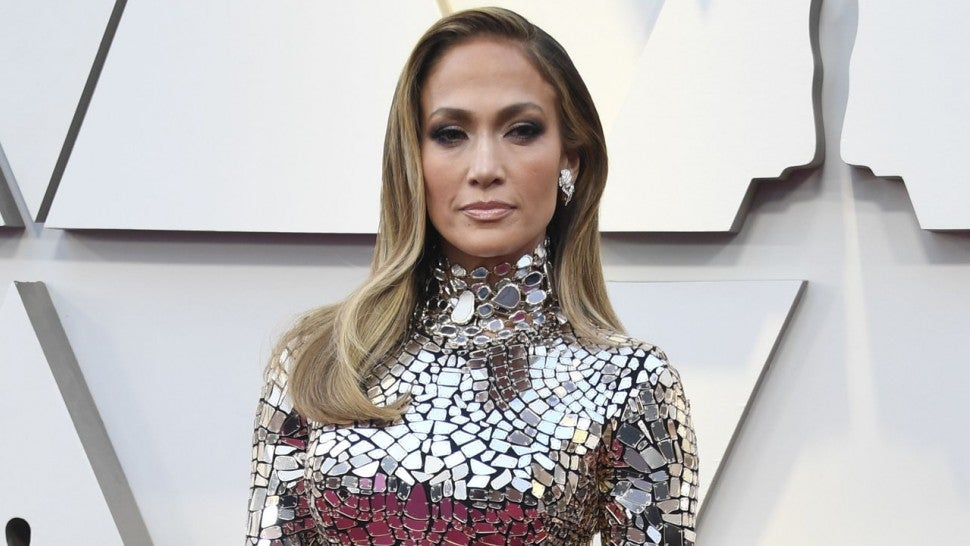 7286c41005f7 Jennifer Lopez Is a Knockout in Mirrored Dress With Alex Rodriguez ...