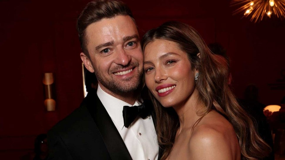 Jessica Biel Sends Justin Timberlake the Sweetest Message for His Last 'Man of the Woods' Concert -- Watch