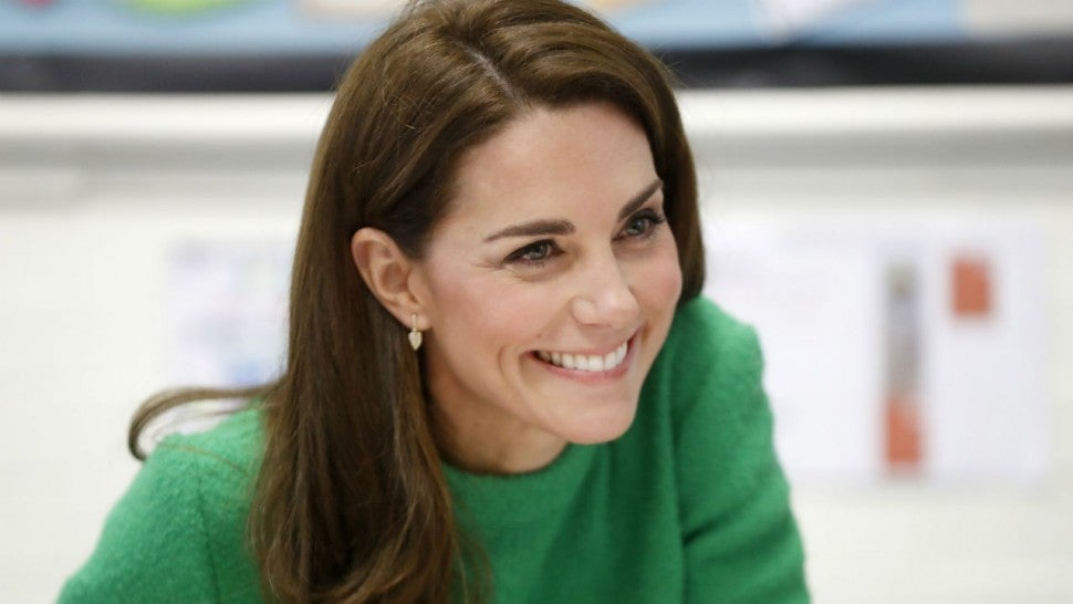 Kate Middleton visits schools for Children's Mental Health Week