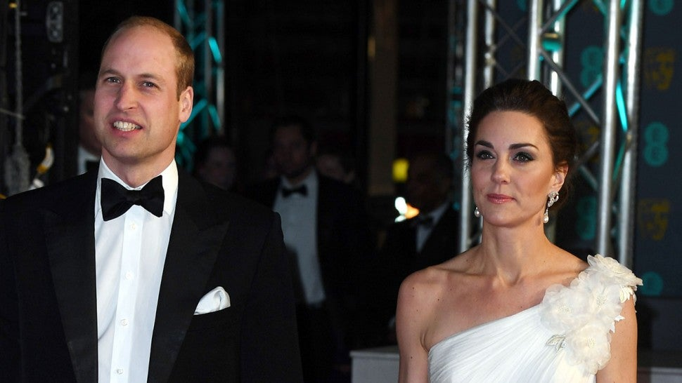 Kate Middleton was struck by the exquisite dress