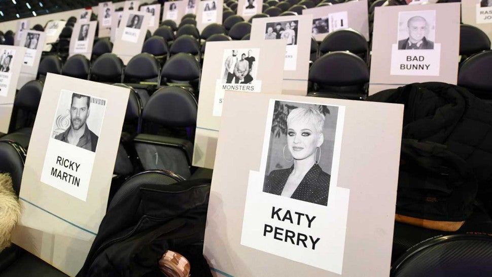 GRAMMYs seating