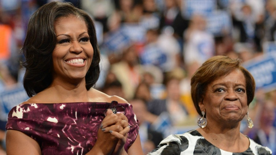 Michelle Obama's Grammy appearance did not impress her mom